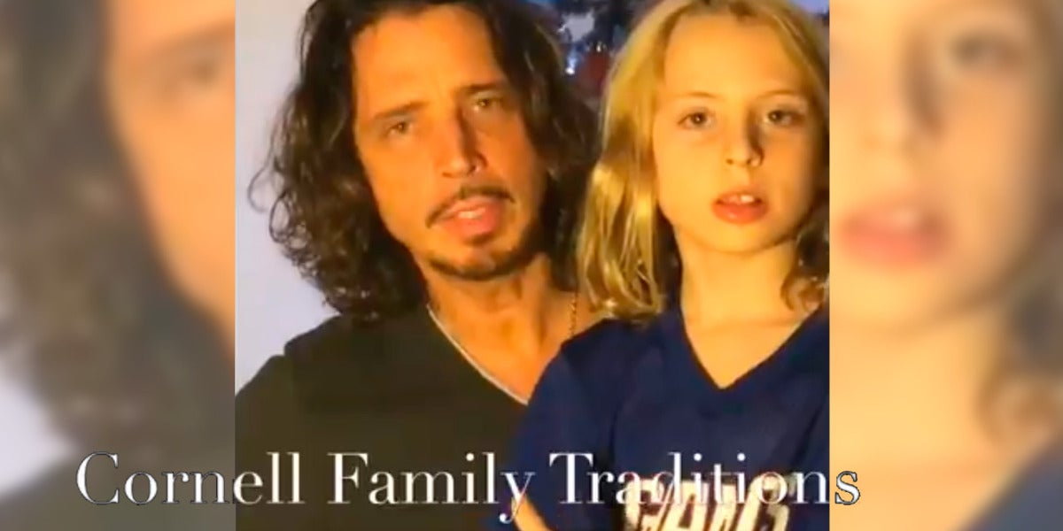 La familia de Chris Cornell comparte un emotivo video