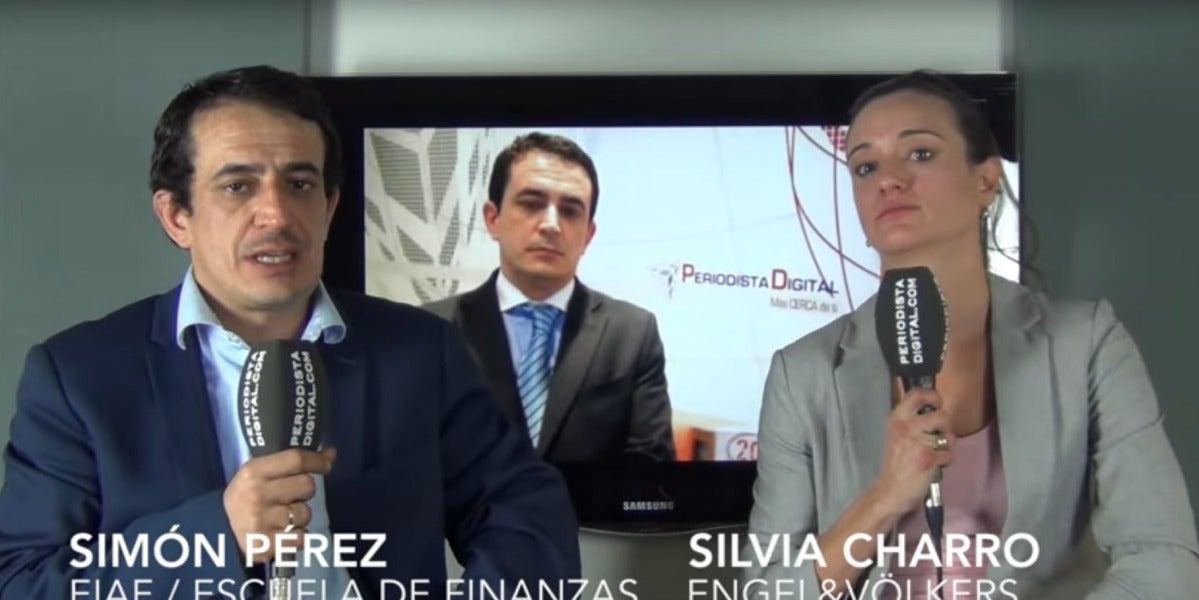 Simón Pérez y Silvia Charro