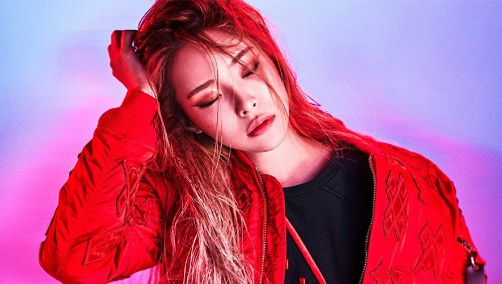 La cantante de K-Pop Heize