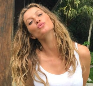 La modelo brasileña Gisele Bündchen