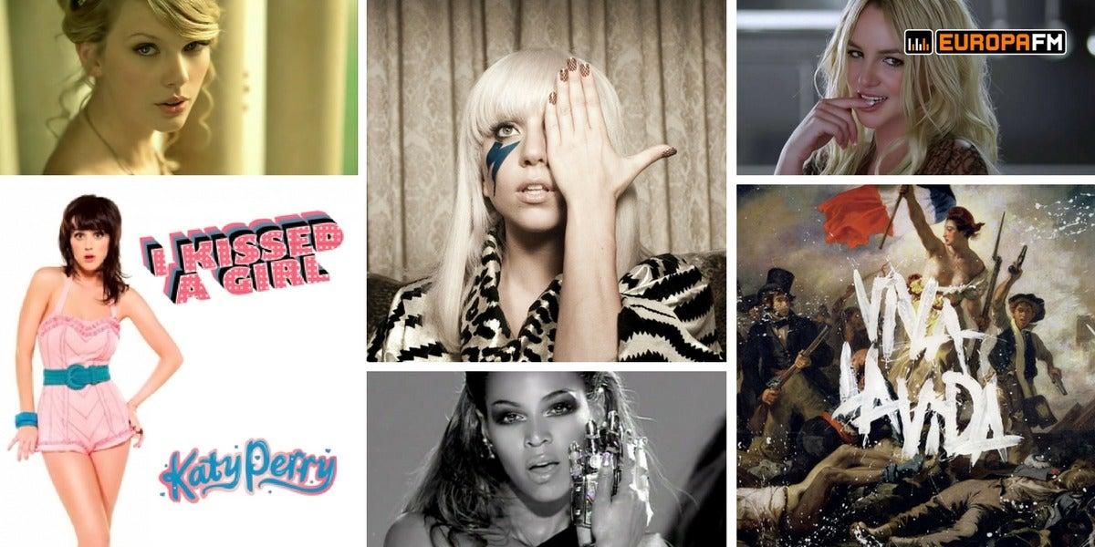10 canciones que cumplen 10 años en 2018