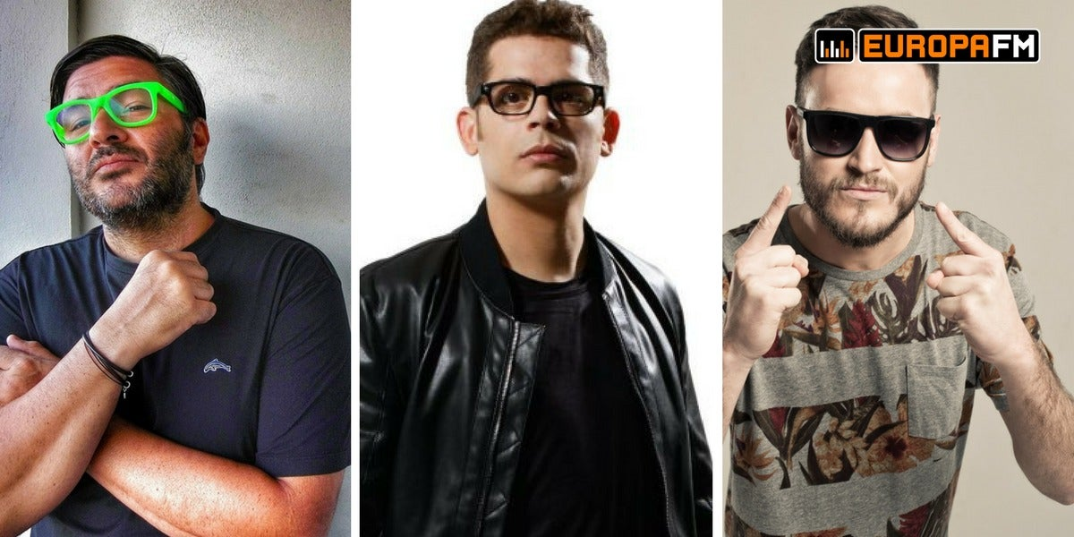 Welcome 2018 en Europa FM: Wally Lopez, Brian Cross y Javi Reina