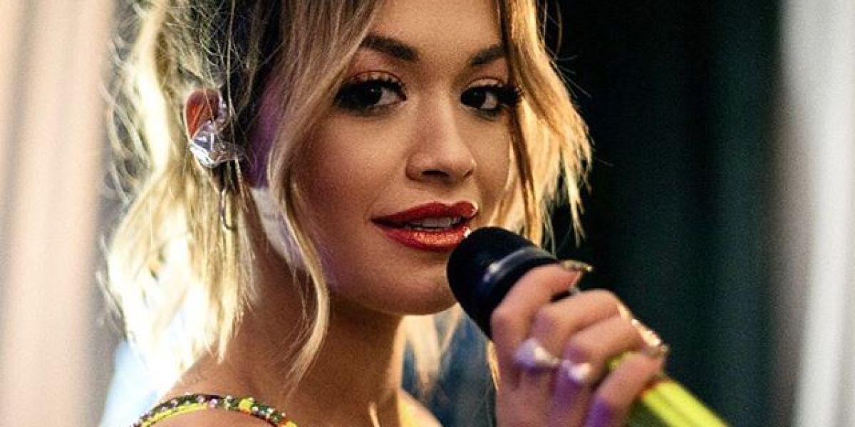 Rita Ora en el 02 Arena