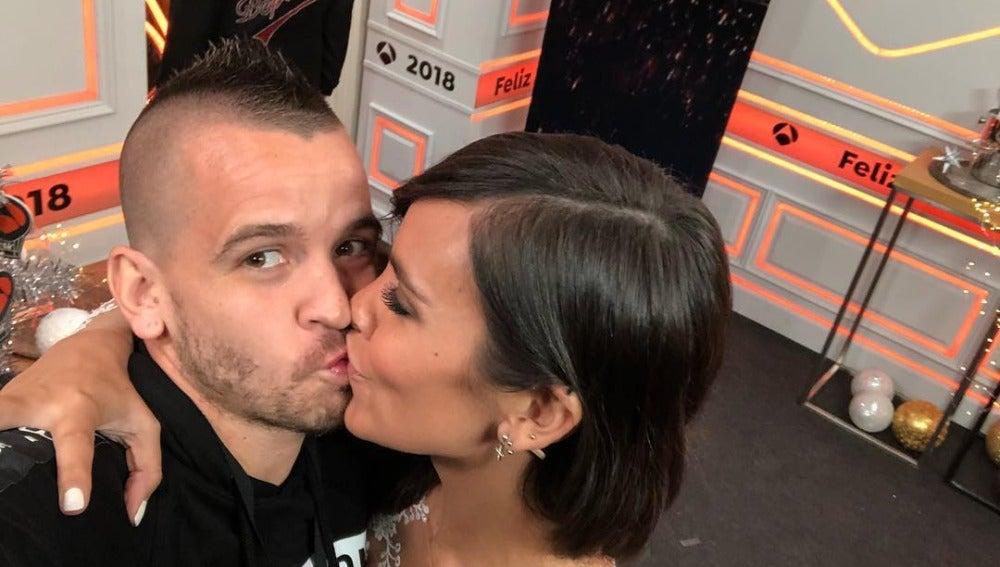 Dabiz Muñoz y Cristina Pedroche tras las Campanadas