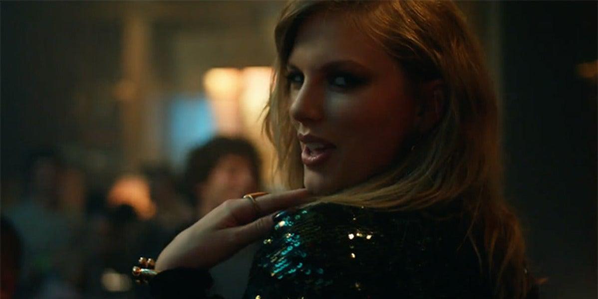 Taylor Swift en el vídeo de 'End Game'