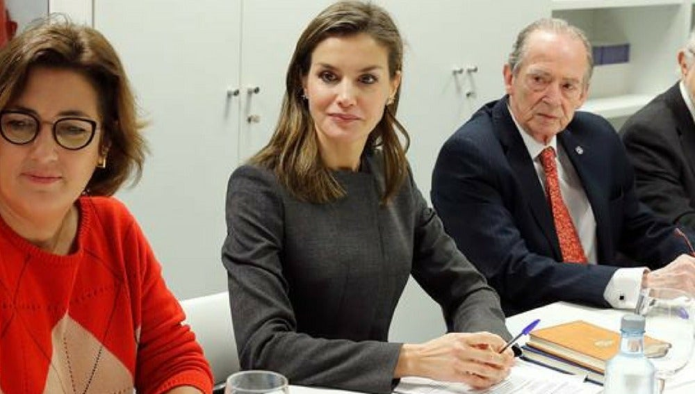 Letizia Ortiz con el Consejo Asesor de Fundéu BBVA