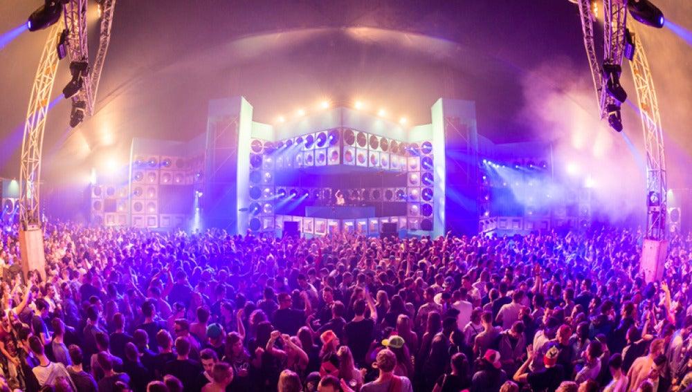 Escenario de techno del DayDream Festival
