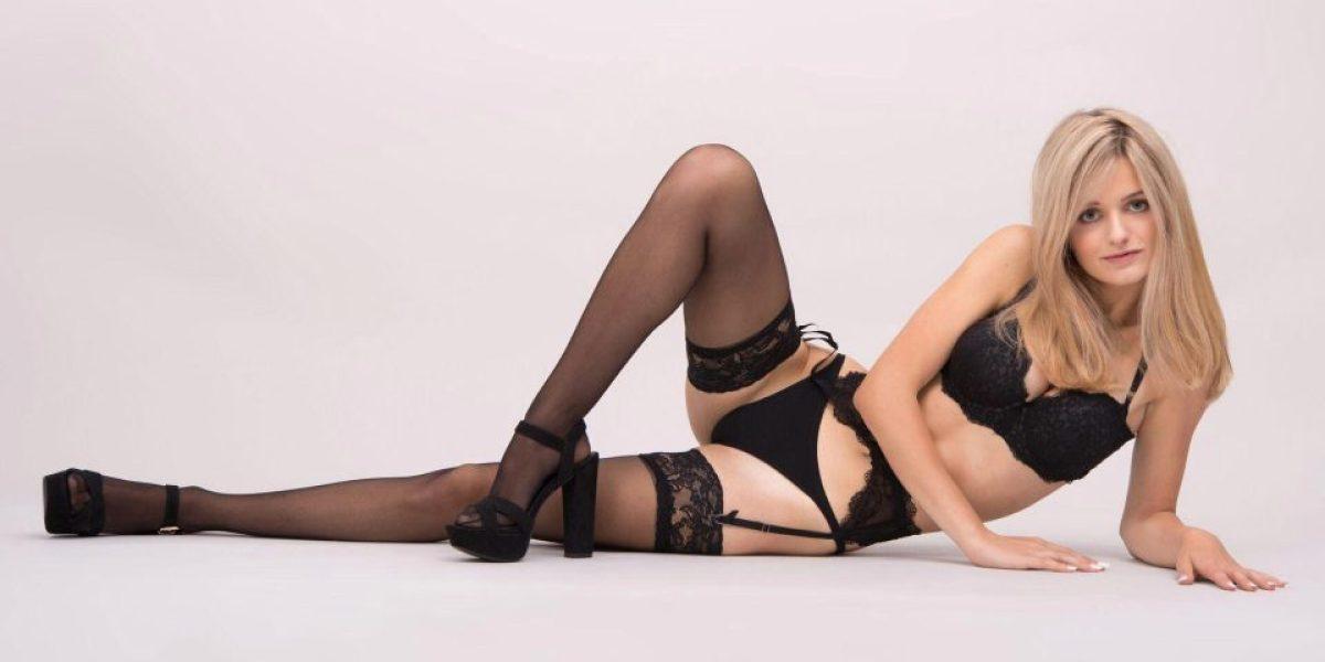 Nicole, la modelo que subasta su virginidad