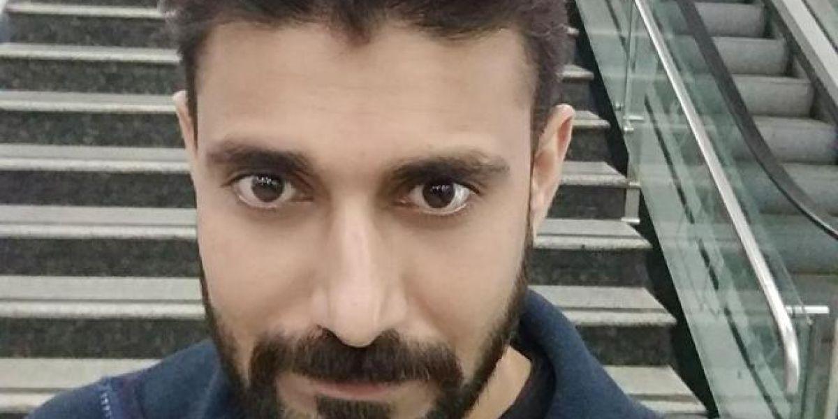 Rajesh Maru, de 32 años, en una foto en su Facebook