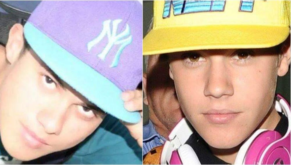 Omar Khalil y Justin Bieber