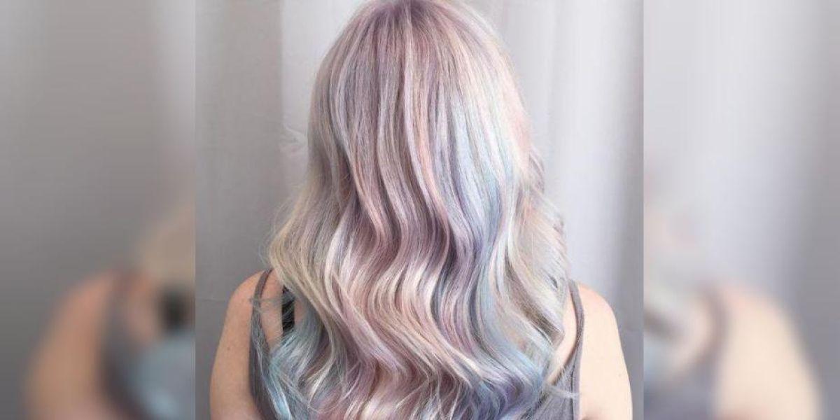 La nueva tendencia es el pelo ópalo