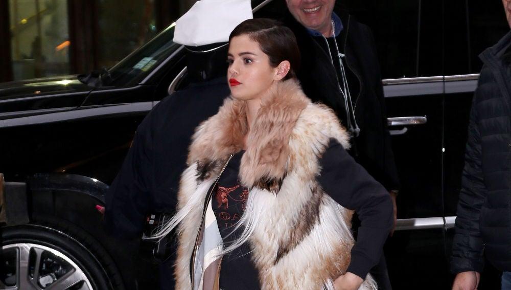 Selena Gomez por las calles de Nueva York