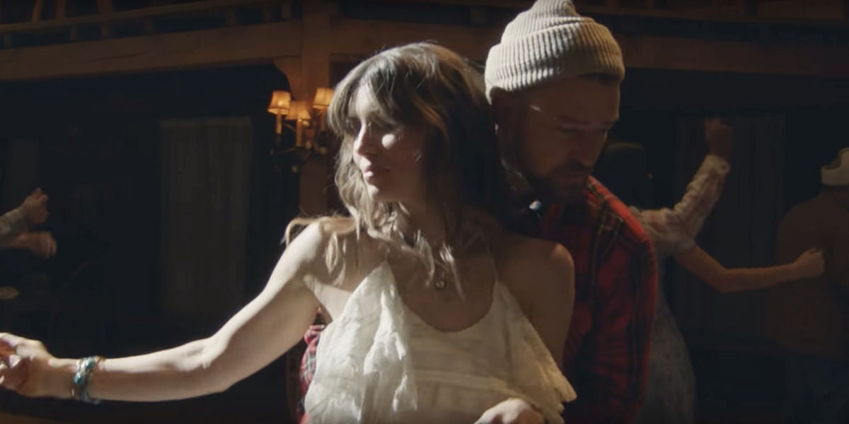 "Justin Timberlake baila con su esposa en el video de ""Man Of The Woods"""