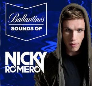 Nicky Romero en Sounds of Ballantine's