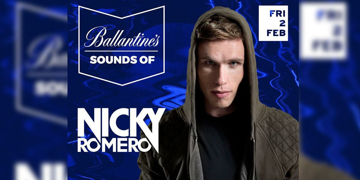 Nicky Romero en Sounds of Ballantine's