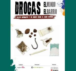 Cartel sobre las drogas financiado con dinero del Ayuntamiento de Zaragoza