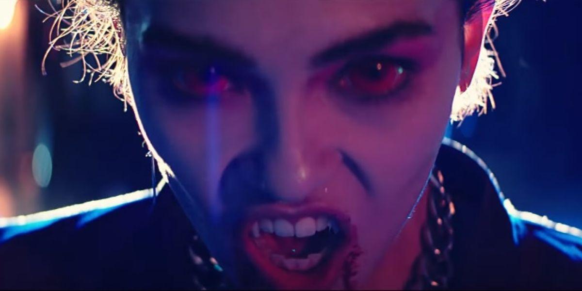 Frame del videoclip de Muse 'Thought Contagion'