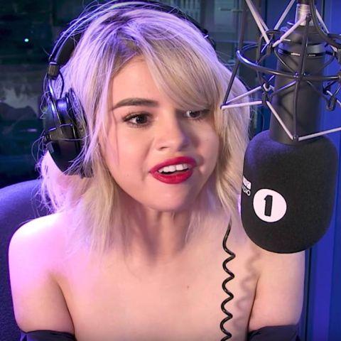 Selena Gomez en la BBC Radio 1