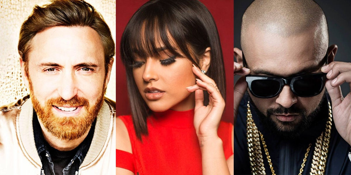 David Guetta, Becky G y Sean Paul lanzan su colaboración 'Mad Love'