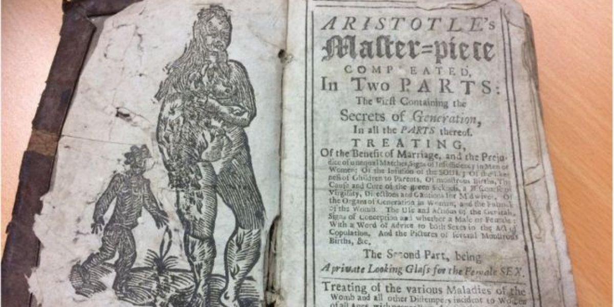Obra maestra de Aristóteles completada en dos partes, el primero que contiene dos secretos de la generación