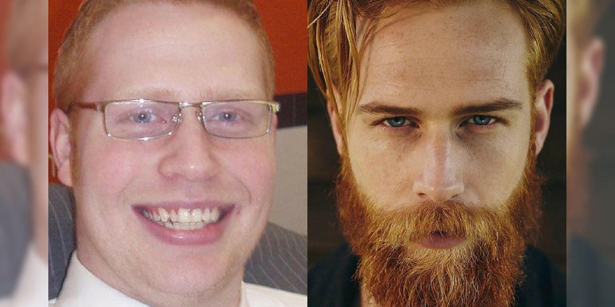 La vida de Gwilym Pugh cambió radicalmente al dejarse barba