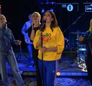 Dua Lipa en la BBC Radio 1