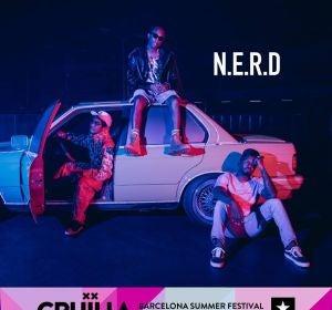 N.E.R.D actuará en Cruïlla Barcelona 2018