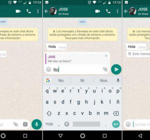 Así puedes leer un mensaje eliminado de WhatsApp
