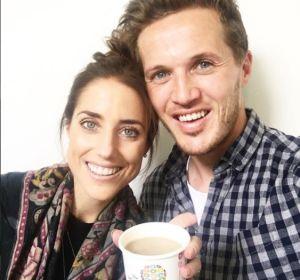 Jake Coates y su primera mujer, Emmy Coates