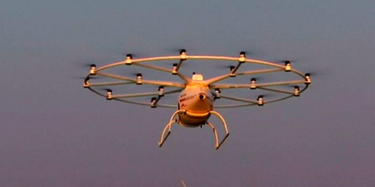 Drones para multar