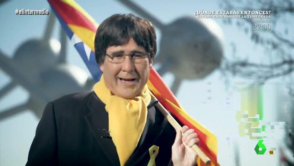 Joaquín Reyes es Puigdemont