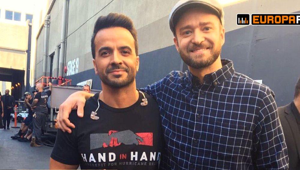 Luis Fonsi y Justin Timberlake