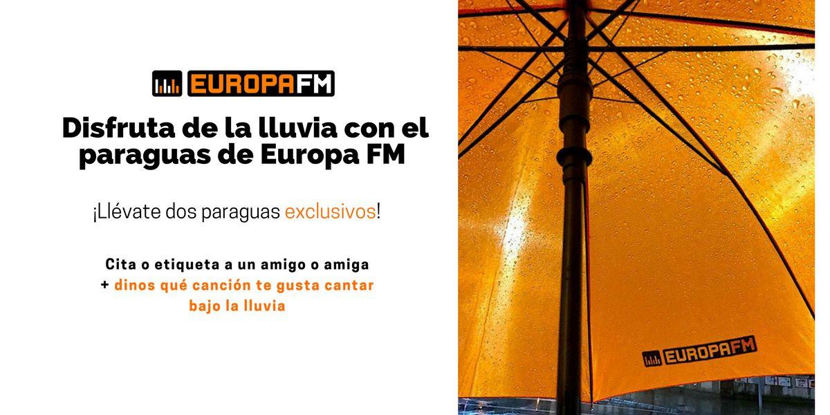 Concurso | Llévate dos paraguas de Europa FM