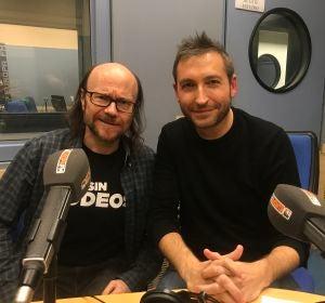 Frank Blanco y Santiago Segura en Europa FM