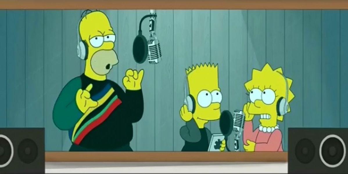 """'Los Simpson' cantan """"Dura"""" de Daddy Yankee"""