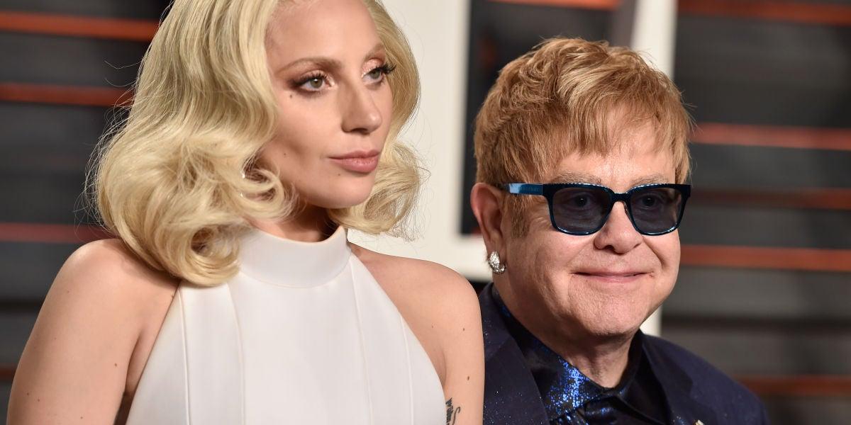 Elton John y Lady Gaga