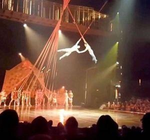 Accidente moral en el Cirque du Soleil en Florida