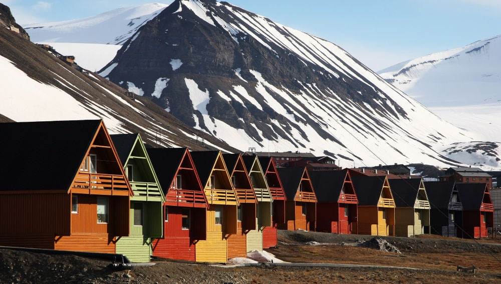 El pueblo noruego de Longyearbyen