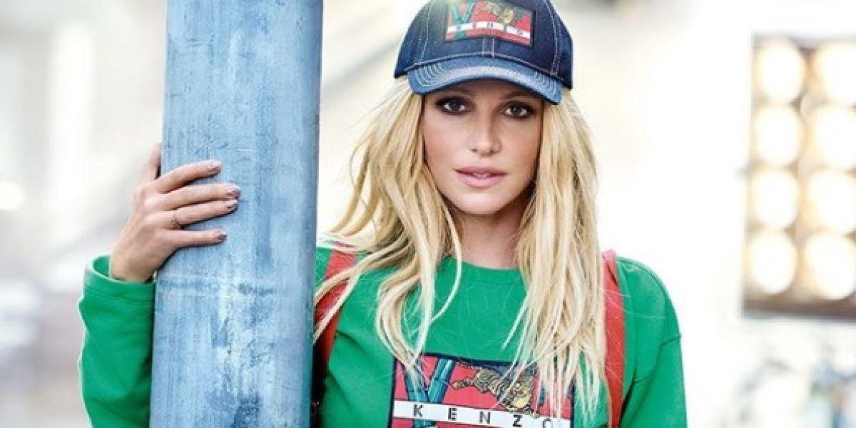 Britney Spears para Kenzo