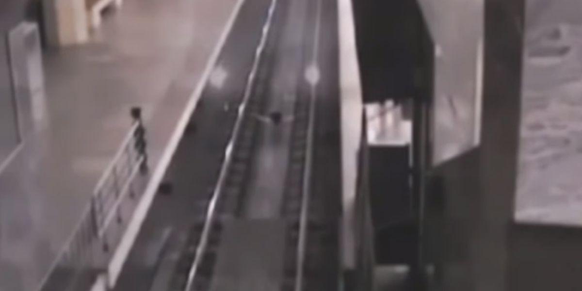 Tren fantasma en China