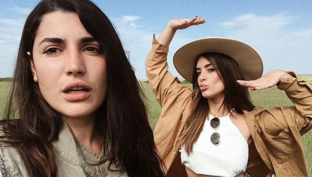 Alba Paul y Dulceida durante su viaje