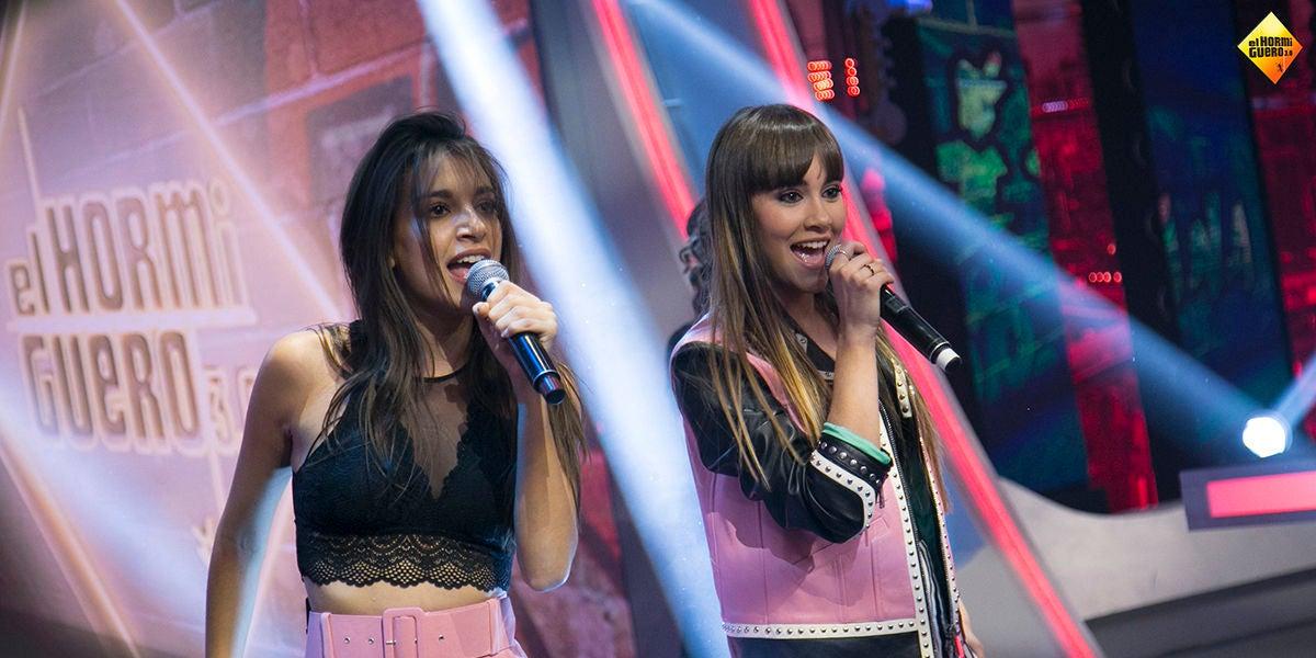 Aitana War cantan en directo en 'El Hormiguero 3.0' su single 'Lo malo'