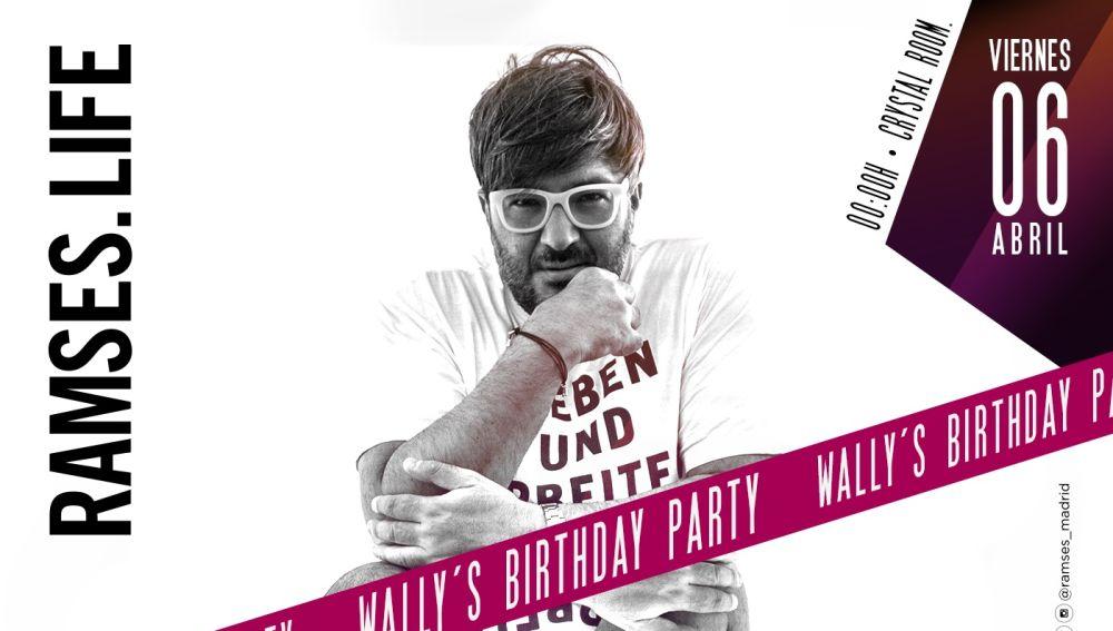 Wally Lopez celebra su cumpleaños en Madrid