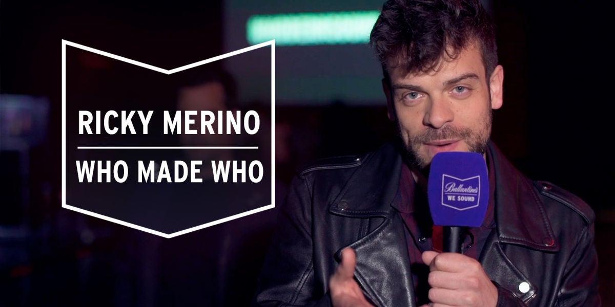 Ricky Merino en el concierto de Who Made Who del Modern Sound Culture