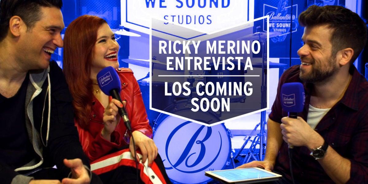 Ricky Merino entrevista a Los Coming Soon