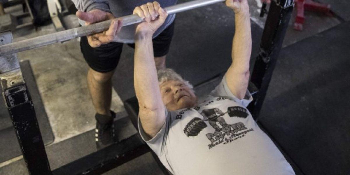 Edith Traina, la mujer que con 97 años compite en campeonatos de fitness