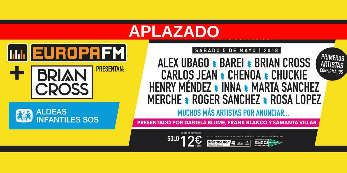 Festival Solidario - Aplazamiento