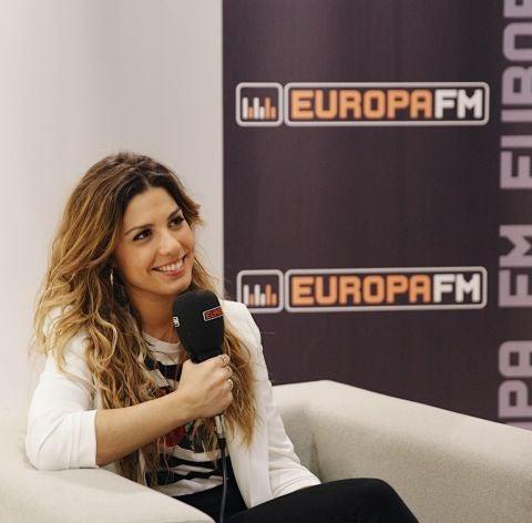Miriam Rodríguez durante su entrevista con Europa FM