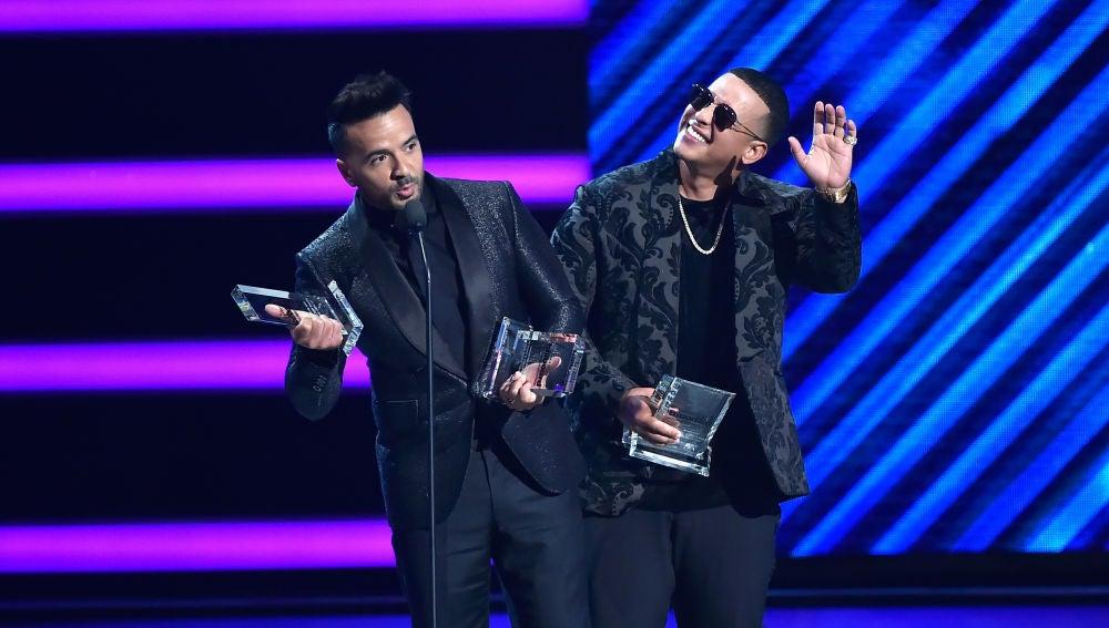 Luis Fonsi y Daddy Yankee, triunfadores de los Latin Billboard 2018
