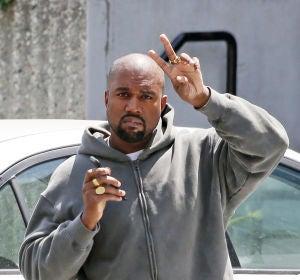 Kanye West, muy simpatico con la prensa